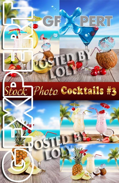 Summer cocktails #3 - Stock Photo