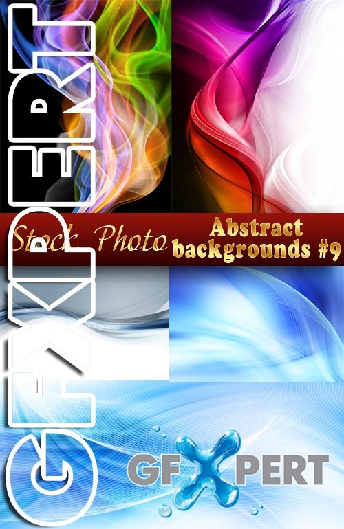 Abstract Backgrounds #9 - Stock Photo