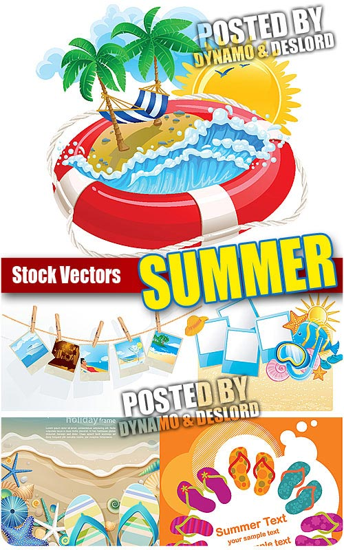 Summer 3 - Stock Vectors
