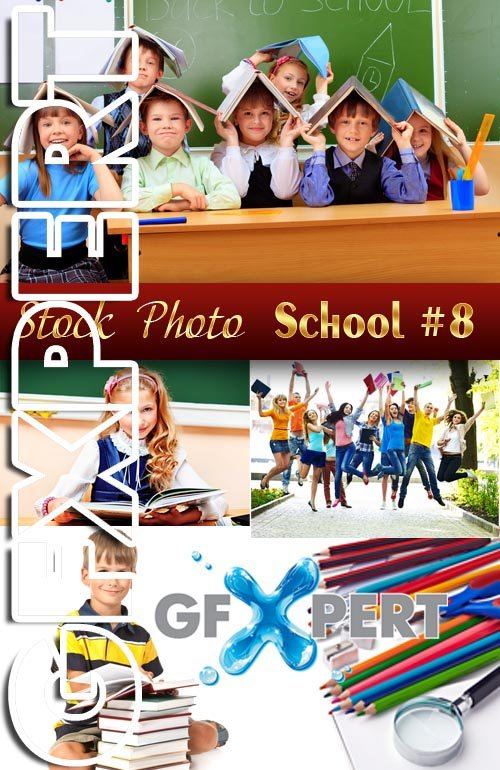 Back to School #8 - Stock Photo