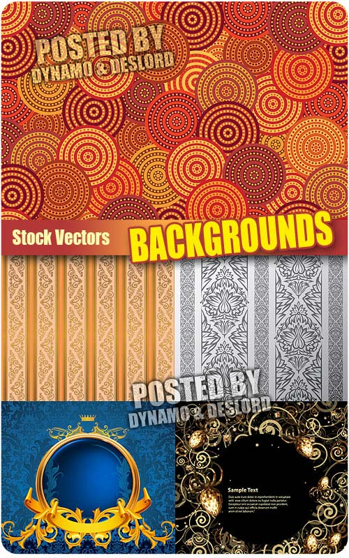 Backgrounds 3 - Stock Vectors
