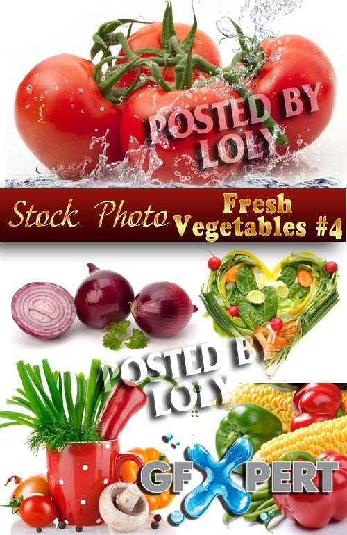 Fresh vegetables # 4 - Stock Photo