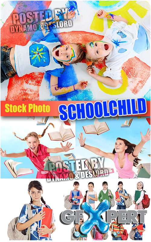 Schoolchild 2 - UHQ Stock Photo