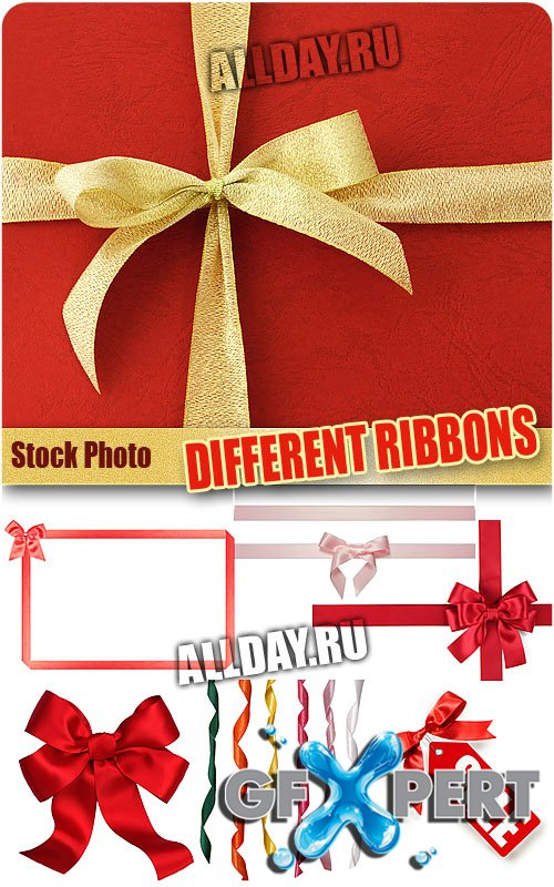 Different ribbons - UHQ Stock Photo