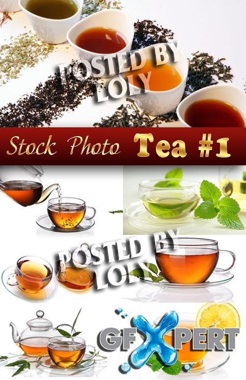 Hot tea #1 - Stock Photo