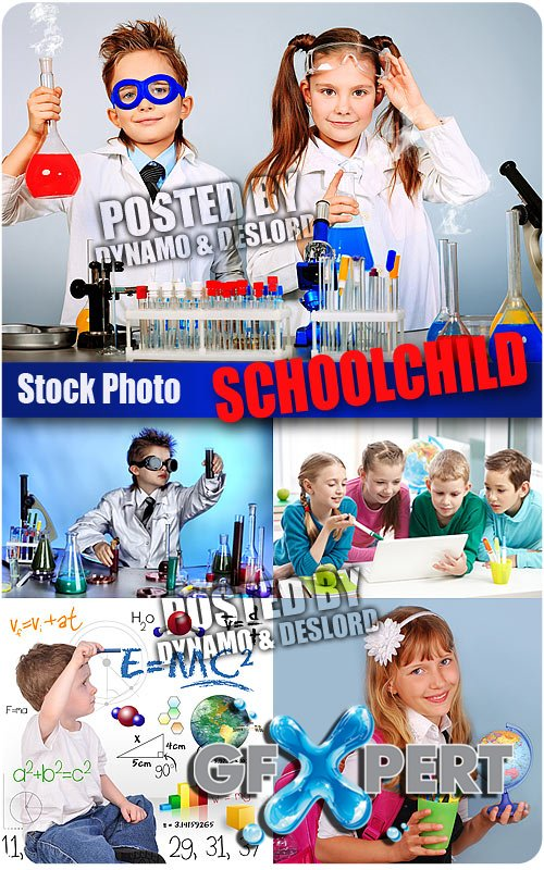 Schoolchild 3 - UHQ Stock Photo