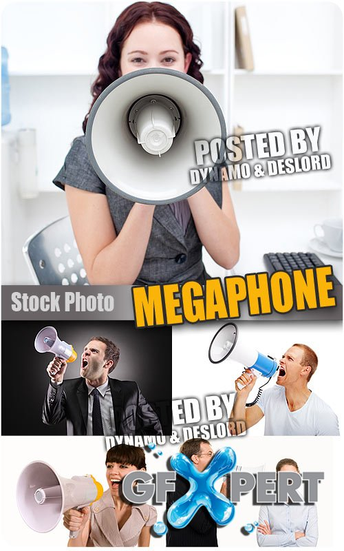 Megaphone - UHQ Stock Photo