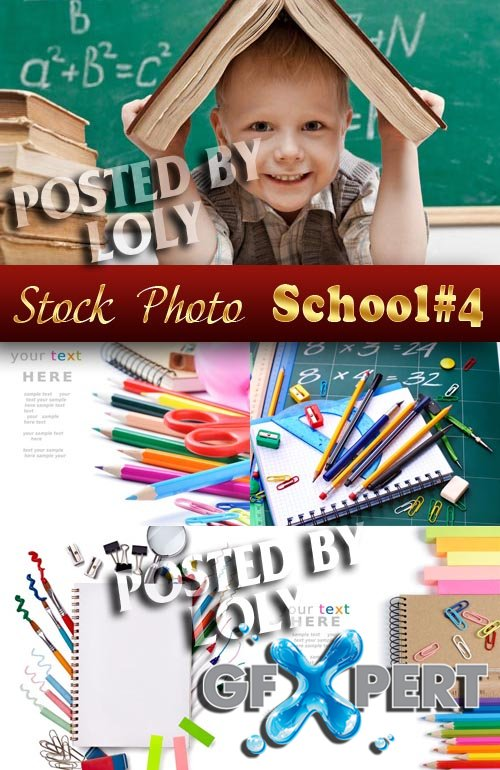 Back to School #4 - Stock Photo
