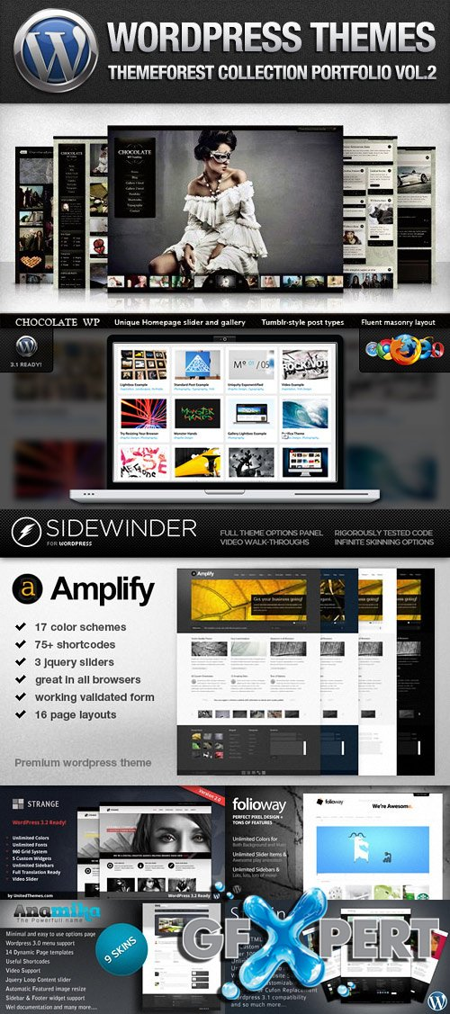 ThemeForest Premium Wordpress Portfolio Themes Vol.2