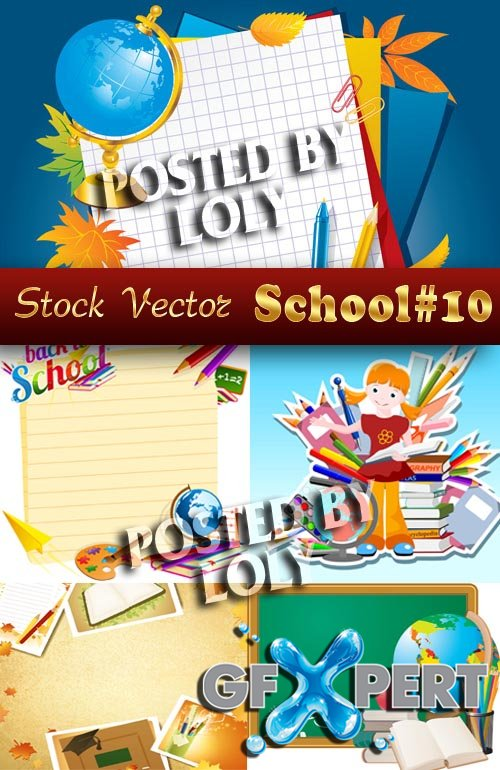 Back to School #10 - Stock Vector