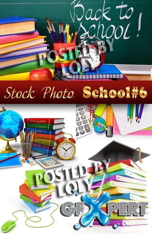 Back to School #6 - Stock Photo