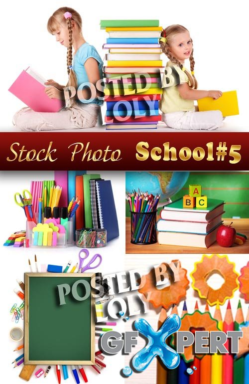 Back to School #5 - Stock Photo