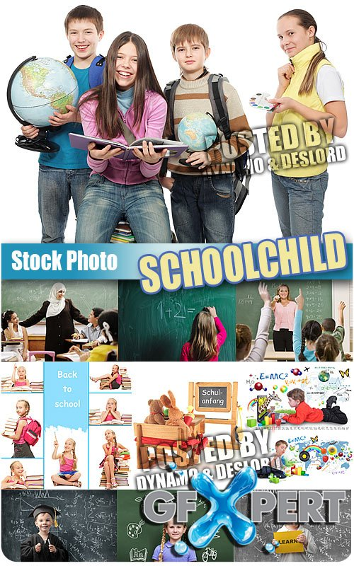 Schoolchild 4 - UHQ Stock Photo