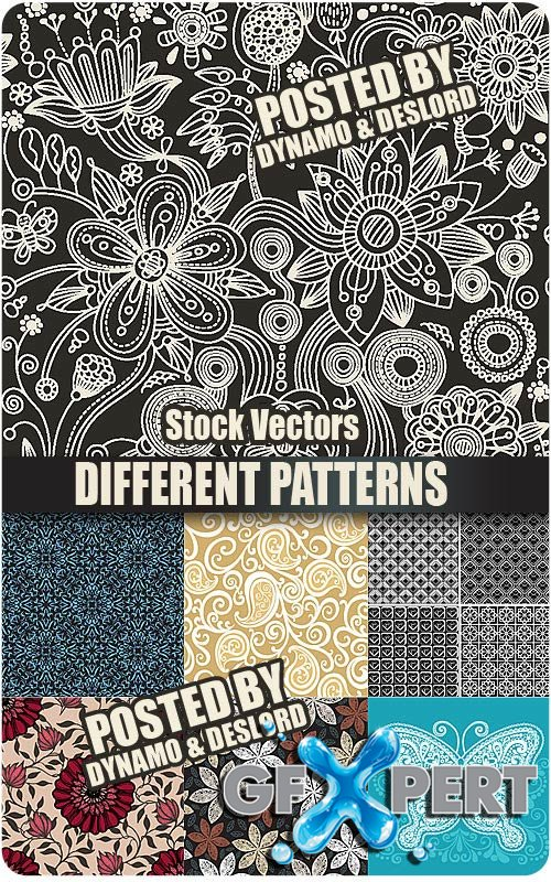 Different Patterns - Stock Vectors