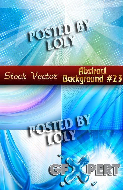Vector Abstract Backgrounds #23 - Stock Vector