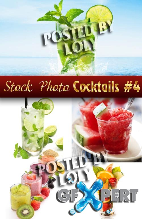 Summer cocktails #4 - Stock Photo