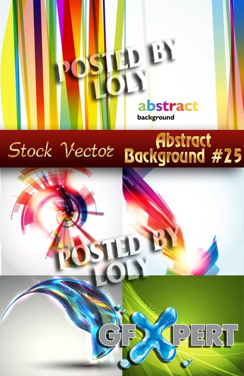 Vector Abstract Backgrounds #25 - Stock Vector