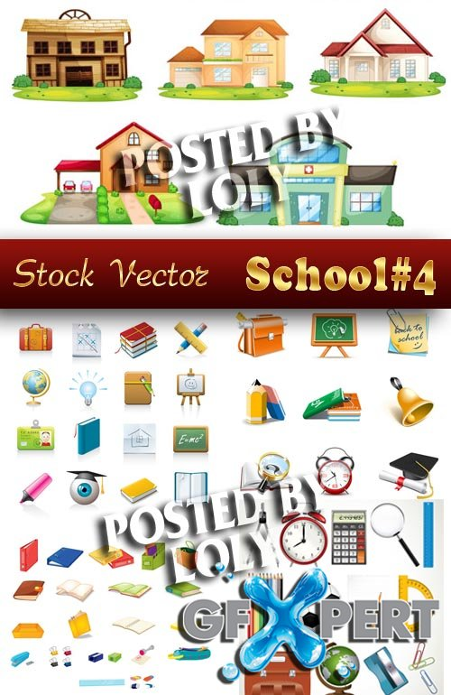 Back to School #4 - Stock Vector