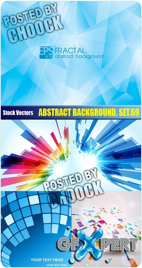 Abstract background. Set.69 - Stock Vector