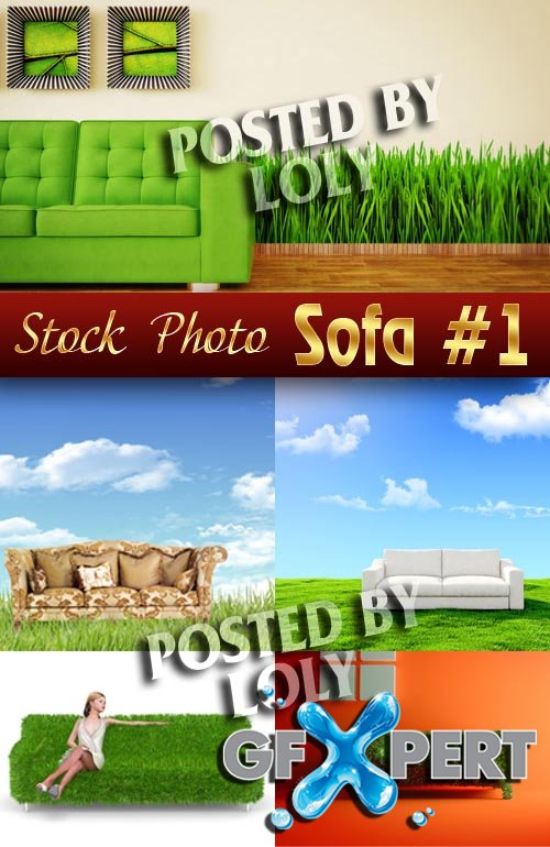Sofa #1 - Stock Photo