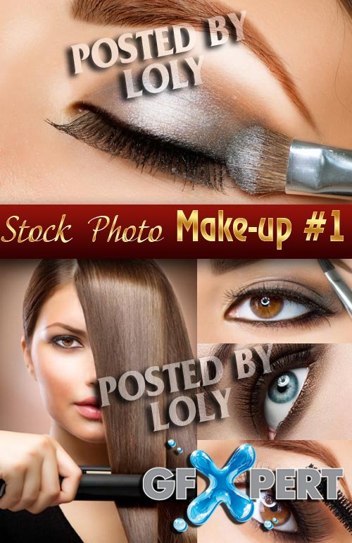 Make-up and Beauty #1 - Stock Photo