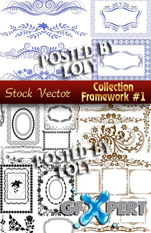 Collection Framework #1 - Stock Vector