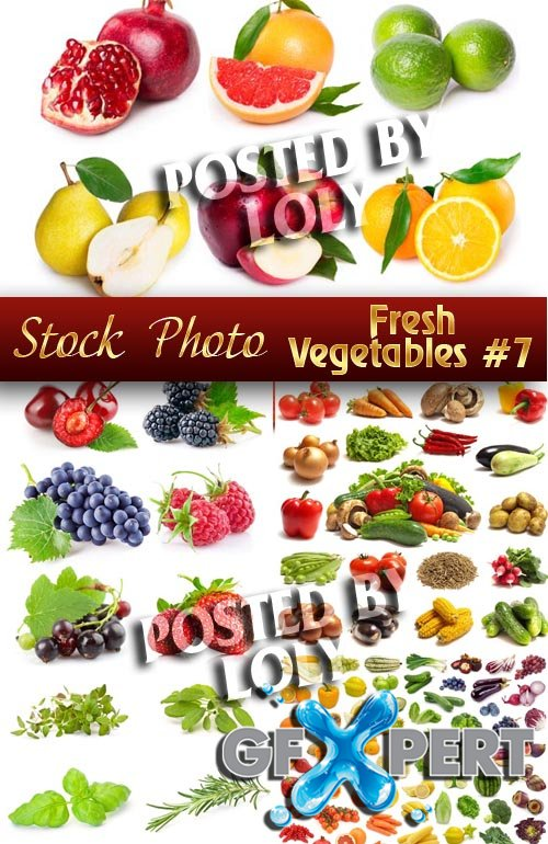 Fresh vegetables # 7 - Stock Vector