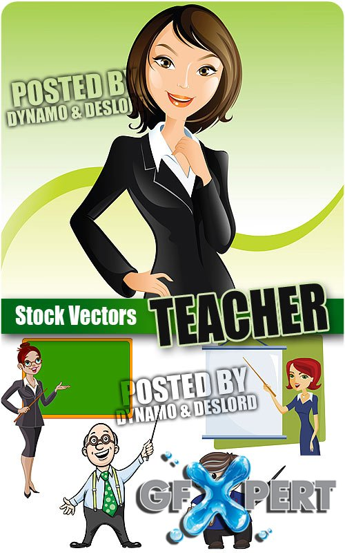Teacher - Stock Vectors