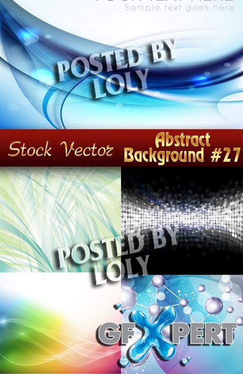 Vector Abstract Backgrounds #27 - Stock Vector