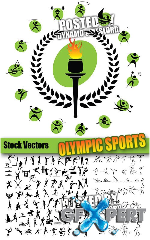 Olympic sports - Stock Vectors