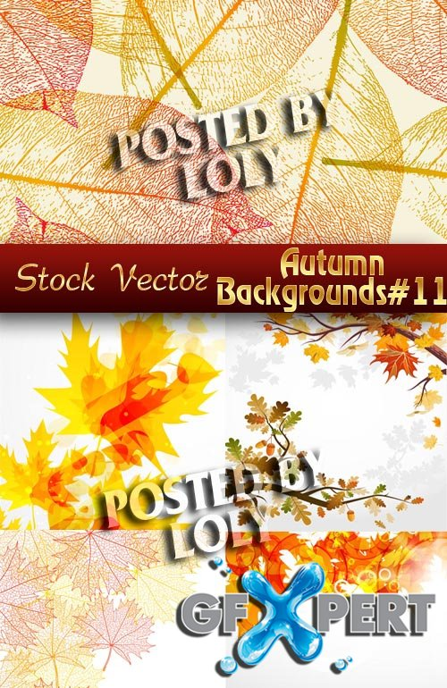 Autumn backgrounds #11 - Stock Vector