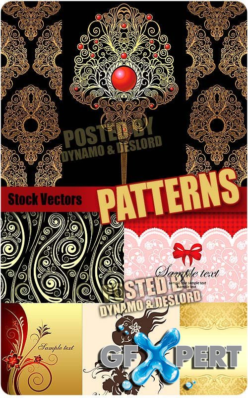 Patterns 7 - Stock Vectors