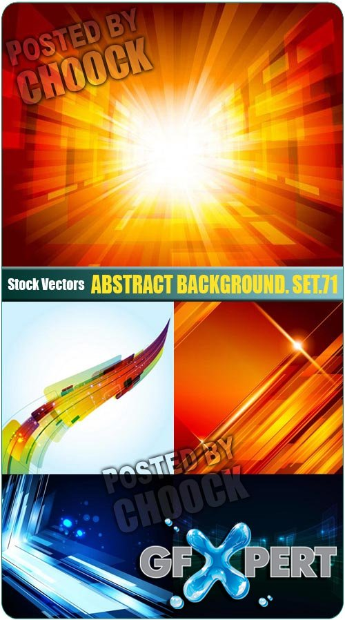 Abstract background. Set.71 - Stock Vector