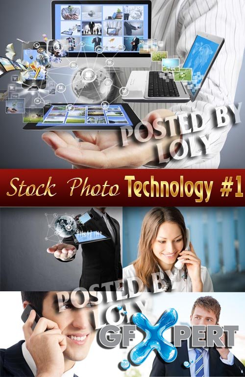 Modern technology #1 - Stock Photo