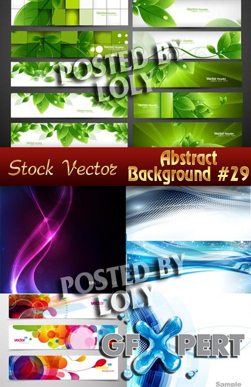 Vector Abstract Backgrounds #29 - Stock Vector