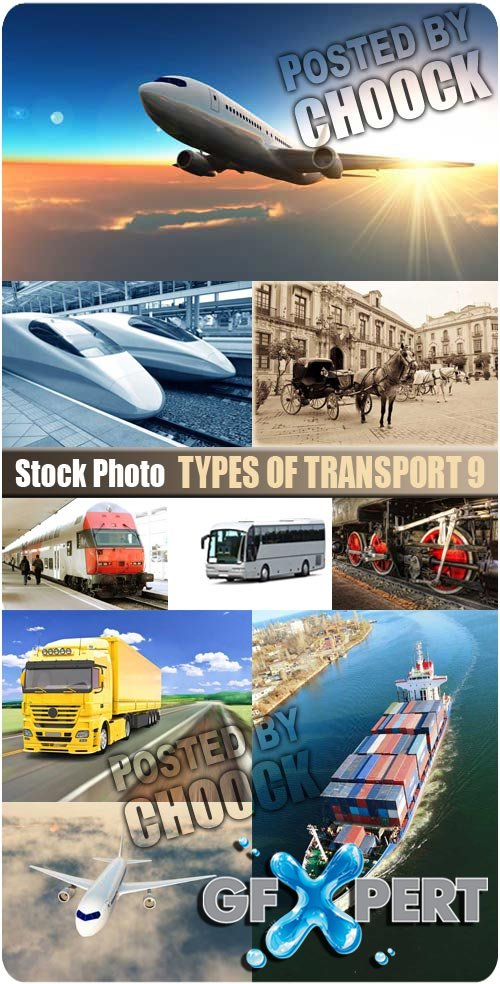 Types of transport 9 - Stock Photo