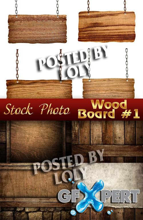 Wooden Backgrounds # 1 - Stock Photo