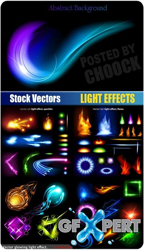 Light effects - Stock Vector