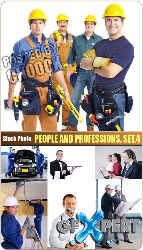 People and professions. Set.4 - Stock Photo
