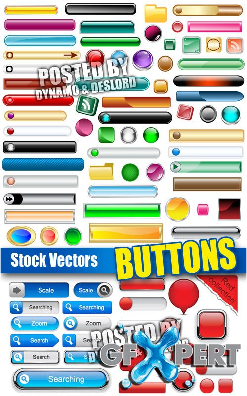 Buttons - Stock Vectors