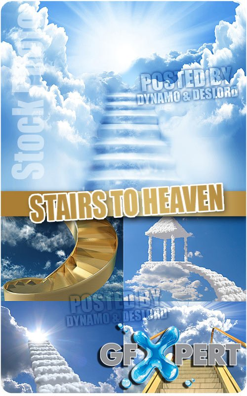 Stairs to heaven - UHQ Stock Photo
