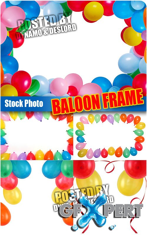 Baloon frame - UHQ Stock Photo