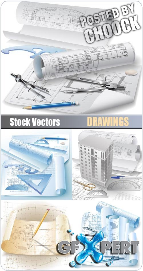Drawings - Stock Vector