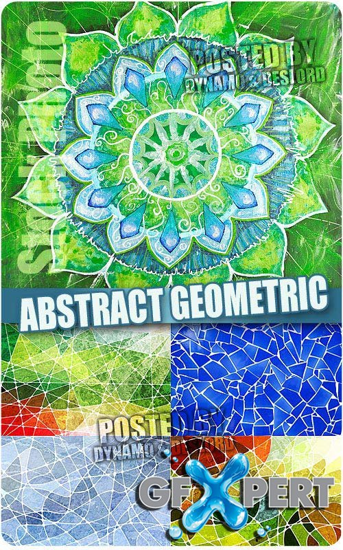 Abstract geometric - UHQ Stock Photo