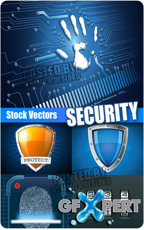Security - Stock Vectors