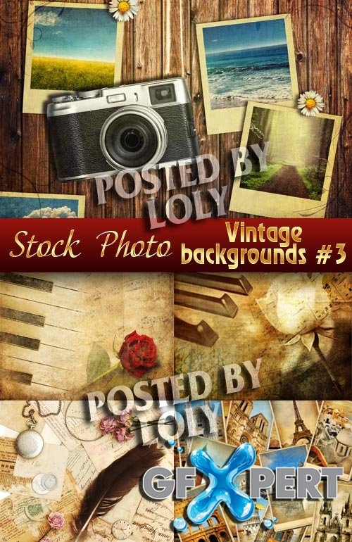 Vintage backgrounds #3 - Stock Photo