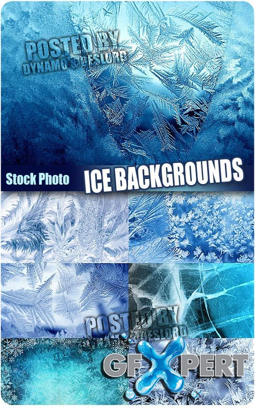 Ice backgrounds - UHQ Stock Photo