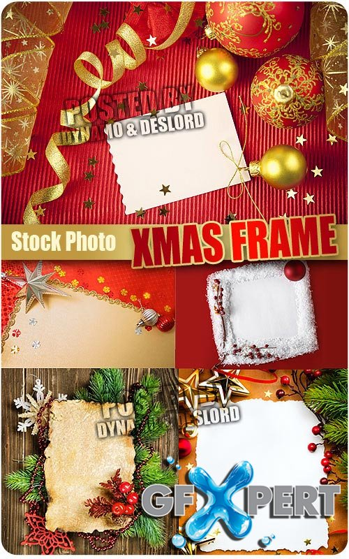 Xmas Frame - UHQ Stock Photo