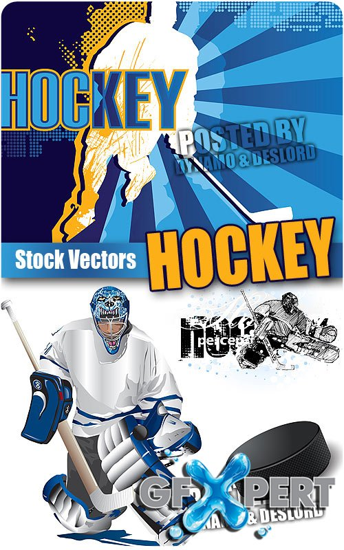 Hockey - Stock Vectors