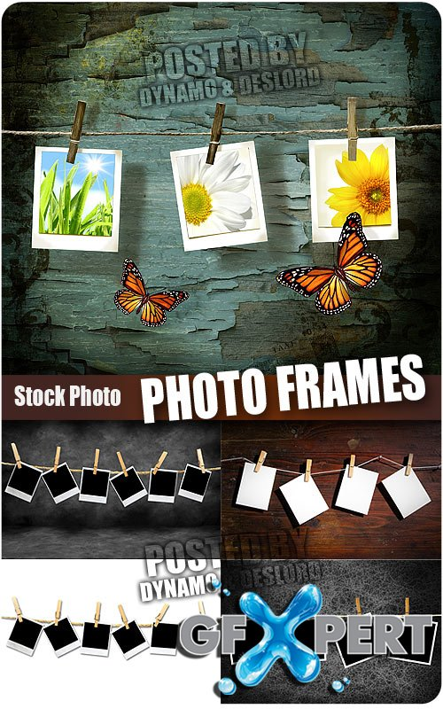 Photo frames - UHQ Stock Photo